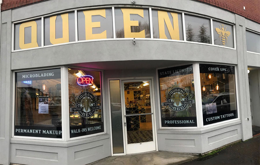 May 10-13 ~ Queen Bee Tattoo [Springfield, OR]
