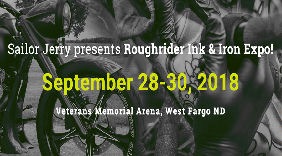 Sept 28-30 ~ Roughrider Ink & Iron [Fargo, ND]